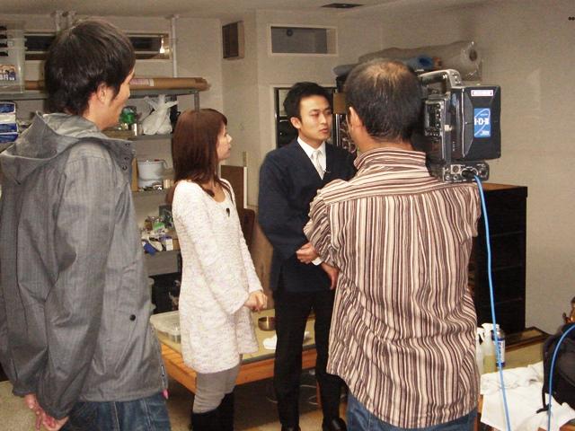 テレビ取材20101209-2