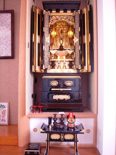 仏壇写真(安佐南区長束)201304