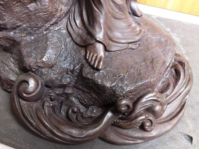 銅像修復後3