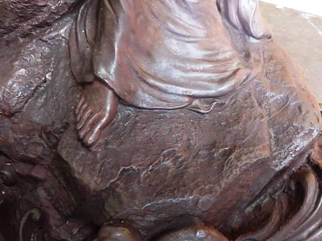 銅像修復後5
